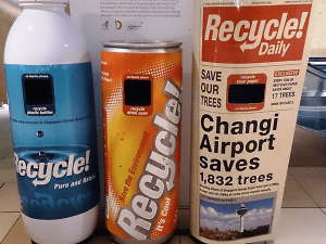 Changi Airport recycling