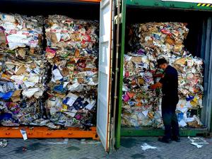 Exported waste